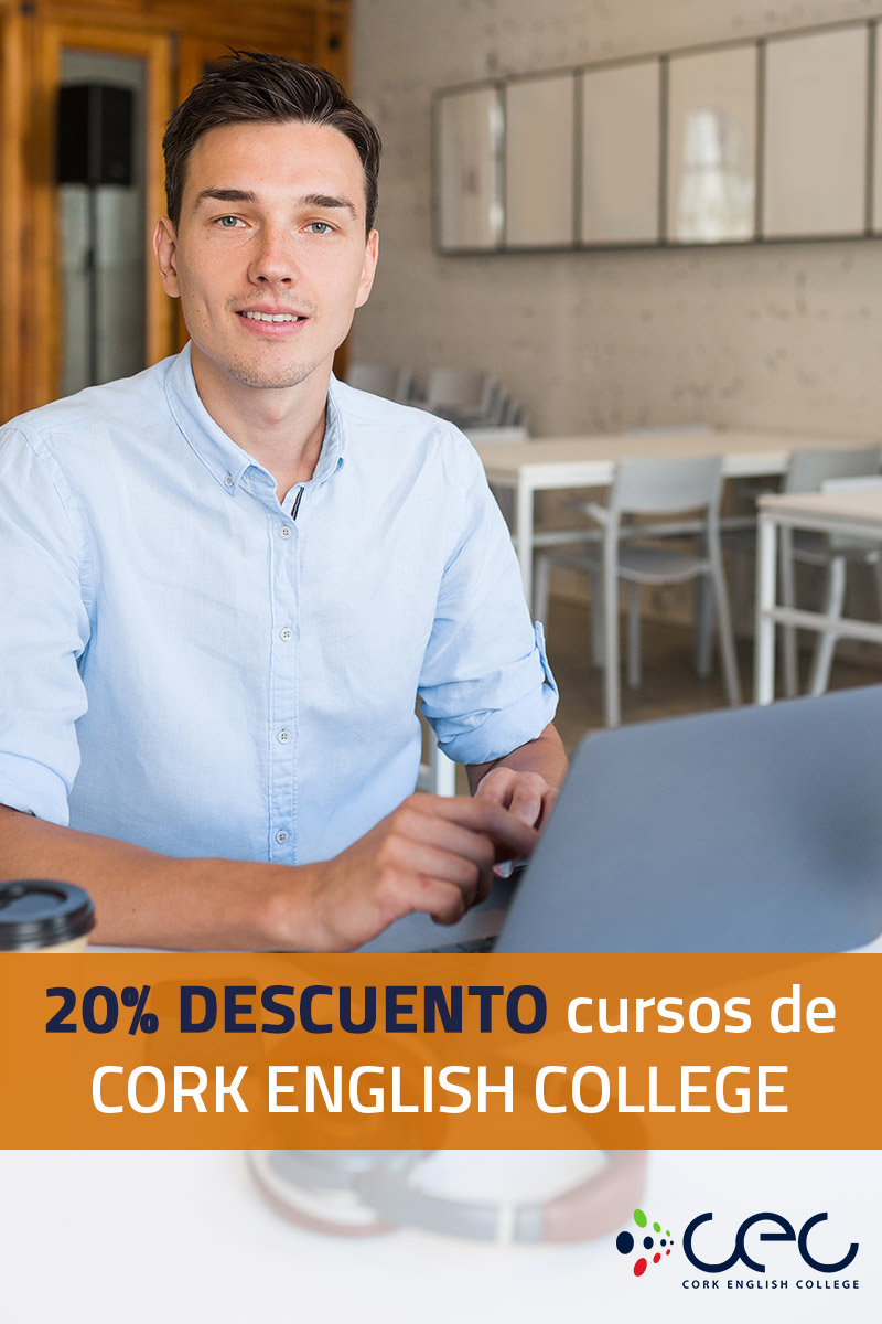 20% descuento cursos de CORK ENGLISH COLLEGE